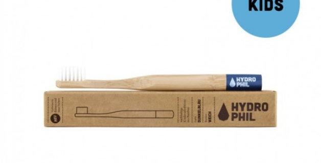 Naturalna szczoteczka do zębów z biodegradowalnego bambusa dla dzieci, Hydrophil