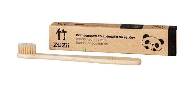 Bambusowa szczoteczka do zębów dla dzieci Zuzii