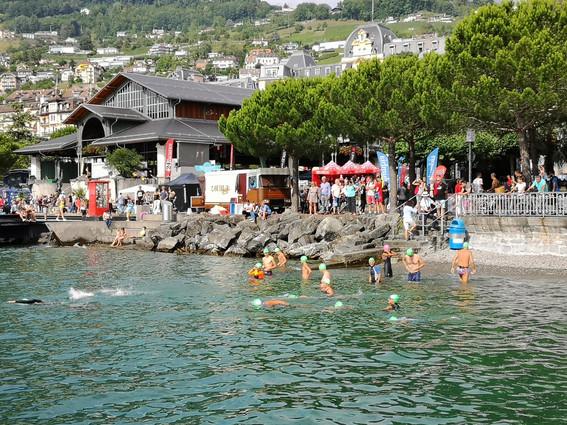 Traversée de la rade de Montreux