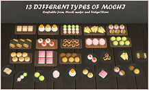 Sims 4 Custom Mod Kitchen Appliance Mochi Maker