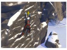 The Sims 4 Snowy Escape:  Rock Climbing