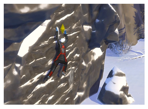 The Sims 4 Snowy Escape:  Rock Climbing