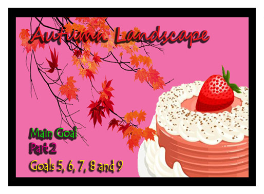 Autumn Landscape - Bakery Story Quest