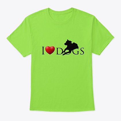 I Love Dogs - Classic Tee