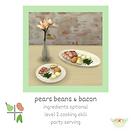 Sims 4 Custom Food Pears Beans and Bacon