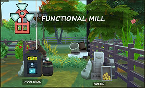 The Sims 4 functional mill cc