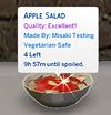 Sims 4 Custom Food Apple Salad