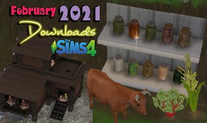 The Sims 4 February 2021 Downloads