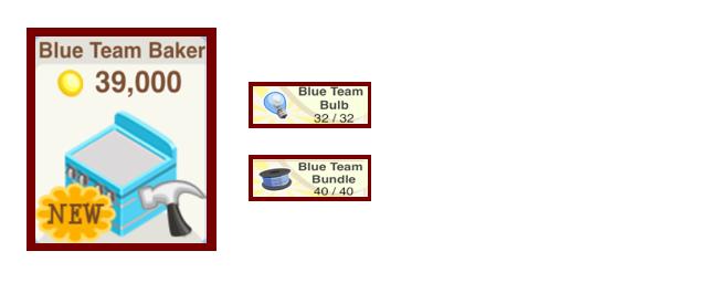 Blue Team Baker bakery story