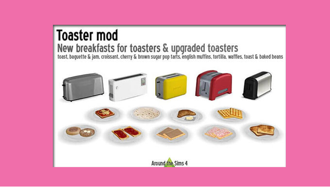 The Sims 4 CC Toaster