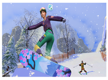 The Sims 4 Snowy Escape - Skills and Traits