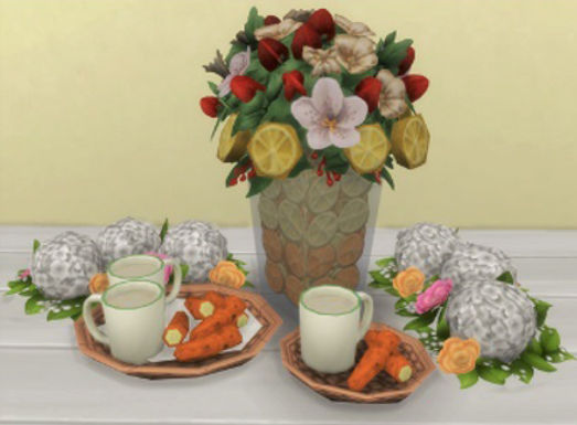Sims 4 Custom Food Banana Fritters
