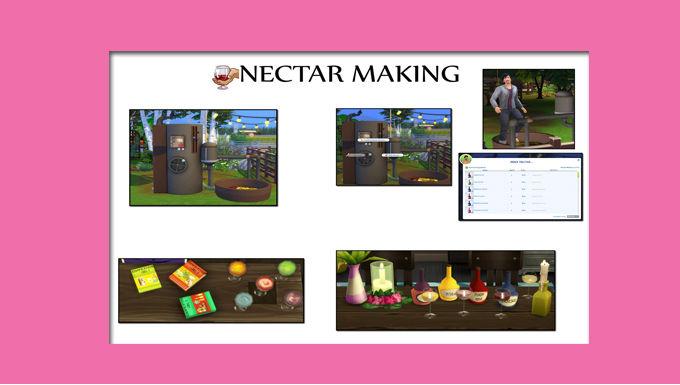 The Sims 4 CC Nectar Maker