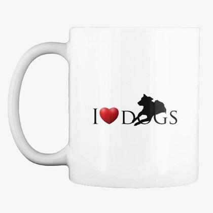 I Love Dogs - Mug