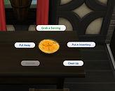Sims 4 Custom Food Peach Crumble