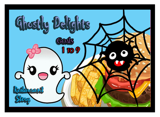 Ghostly Delights - Restaurant Story Quest