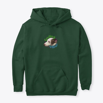 Smiling Pitbull - Classic Pullover Hoodie