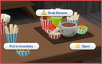 The Sims 4 CC Chocolate Tray