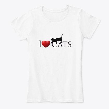 I Love Cats - Women's Comfort Tee
