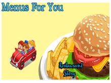 Menus For You - Restaurant Story Quest