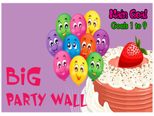 Big Party Wall - Bakery Story Quest