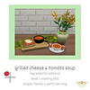 Sims 4 Custom Food Grilled Cheese Tomato Soup