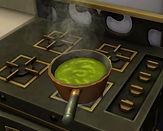 Sims 4 Custom Food Olive and Lemon Spaghetti