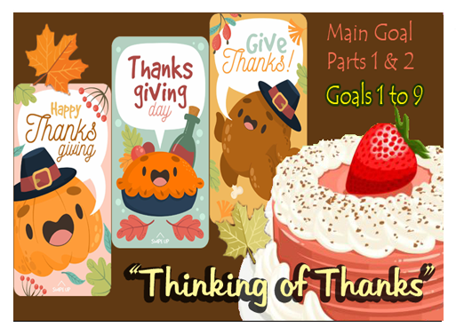 Thinking of Thanks - Bakery Story Quest