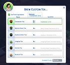 The Sims 4 CC Cardamom Tea