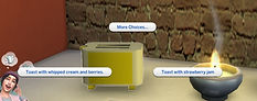 The Sims 4 CC Functional Toaster