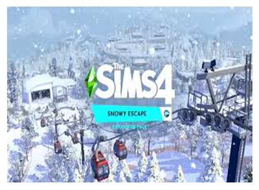 The Sims 4 Snowy Escape - Info, lots & Neighborhoods
