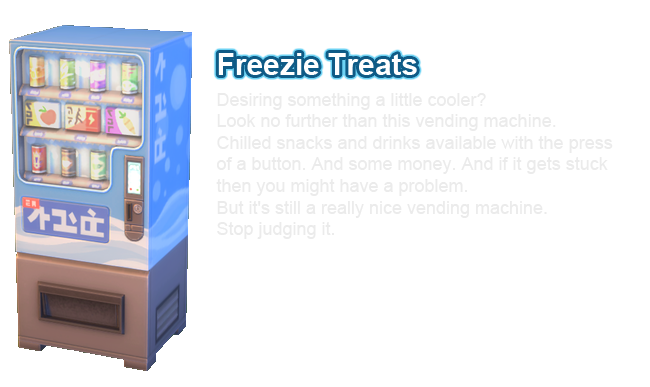 sims 4 snowy escape vending machine freezie treats