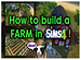 How to build a farm in The Sims 4