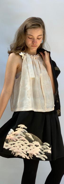 Silk Top & Tomesode Skirt