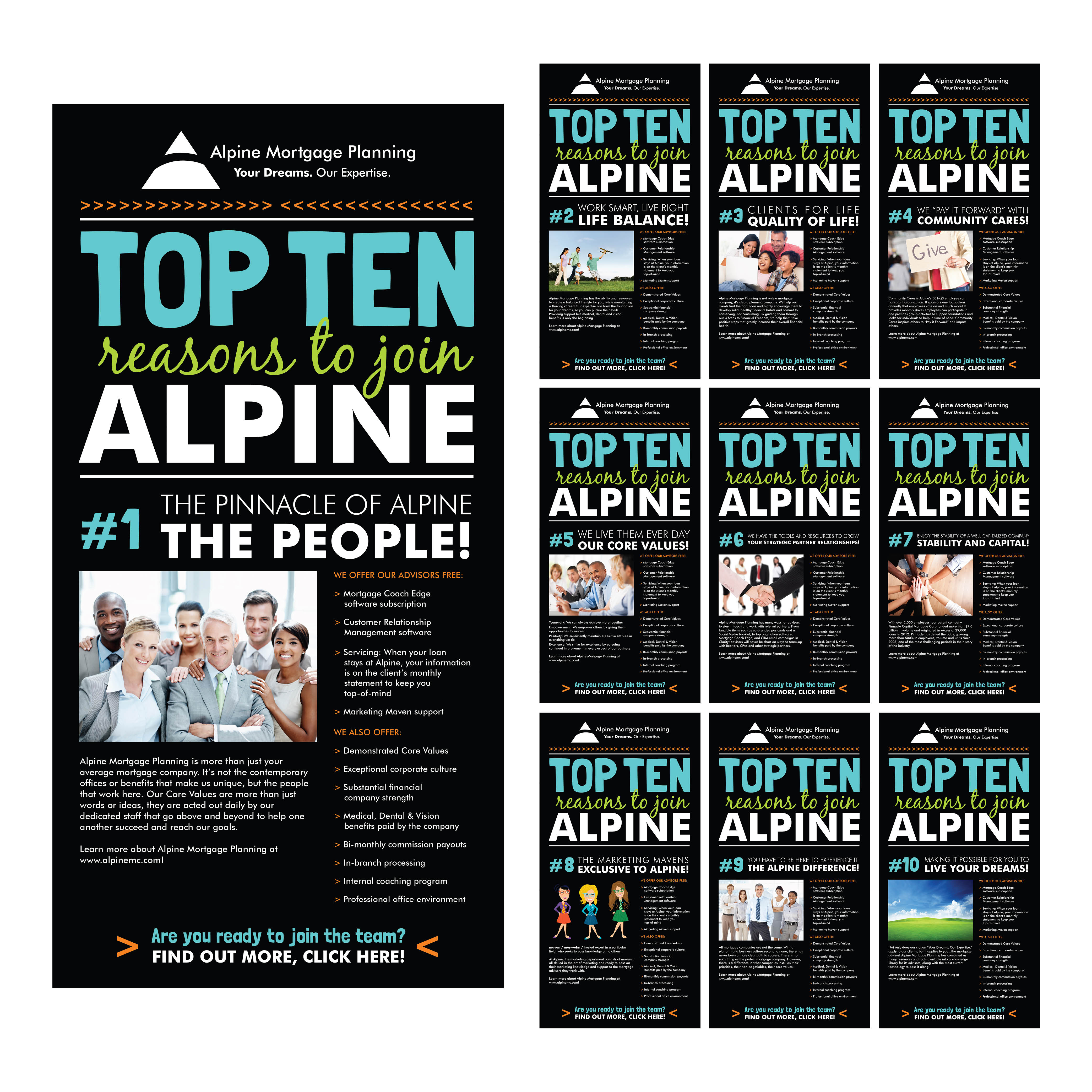 TOP TEN REASONS TO JOIN ALPINE
