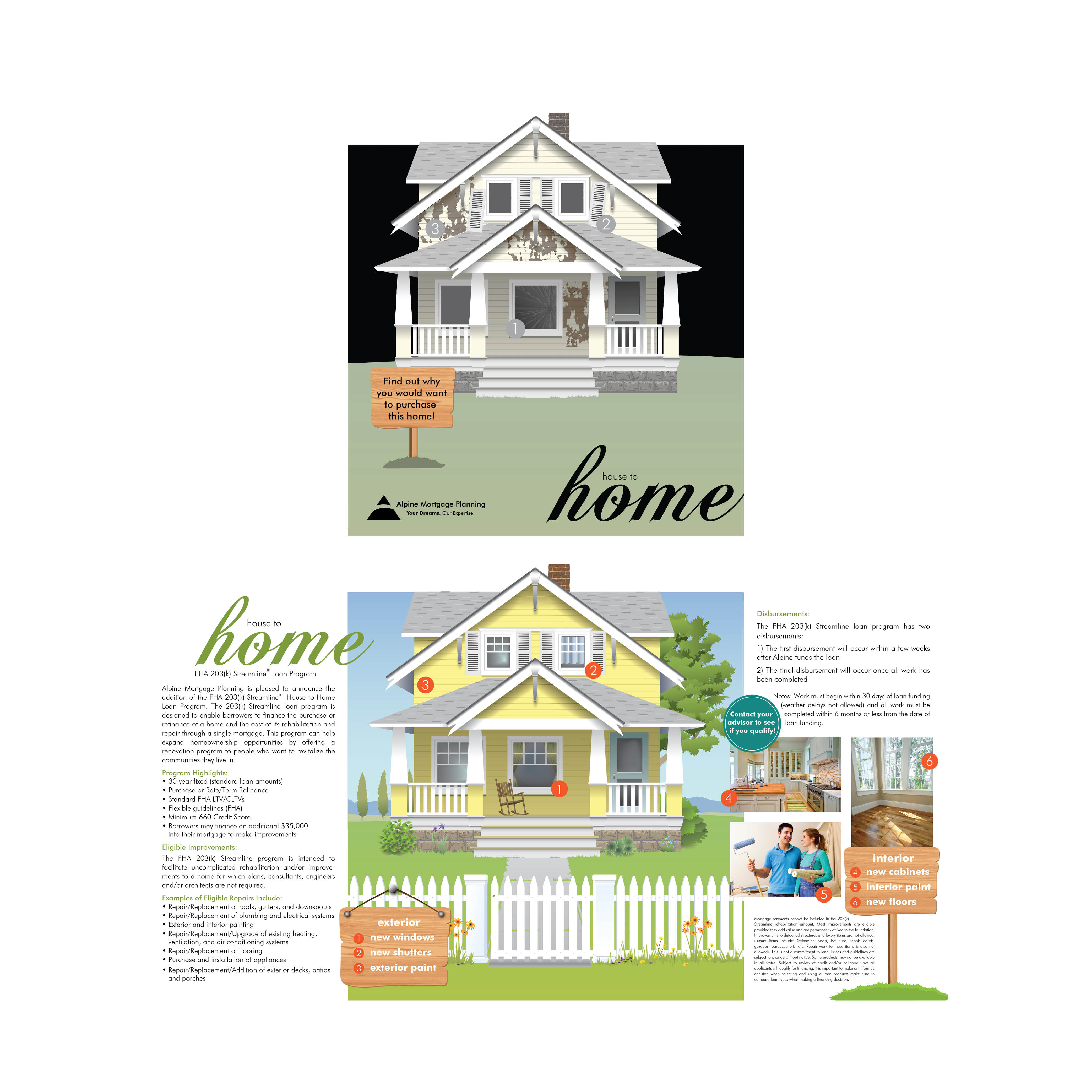 HOUSE TO HOME LOAN PROGRAM