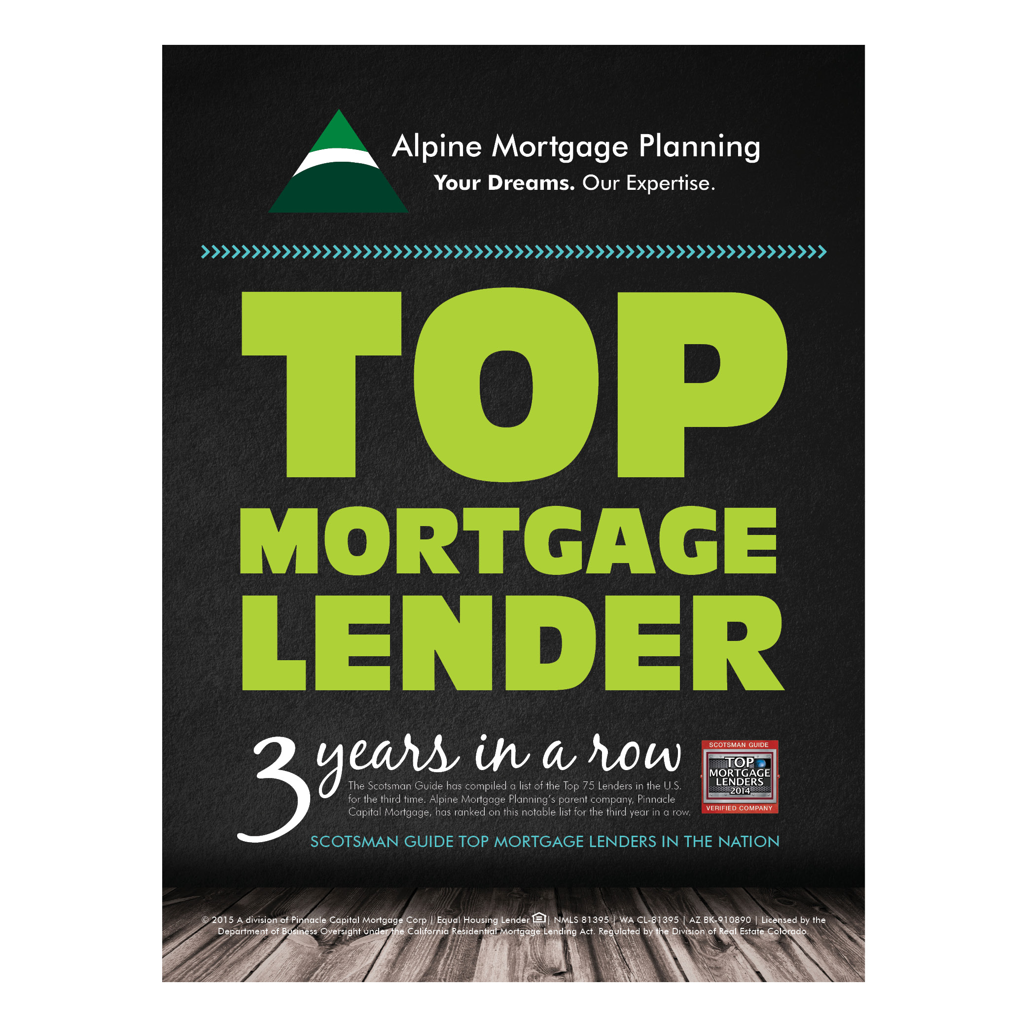 TOP MORTGAGE LENDER