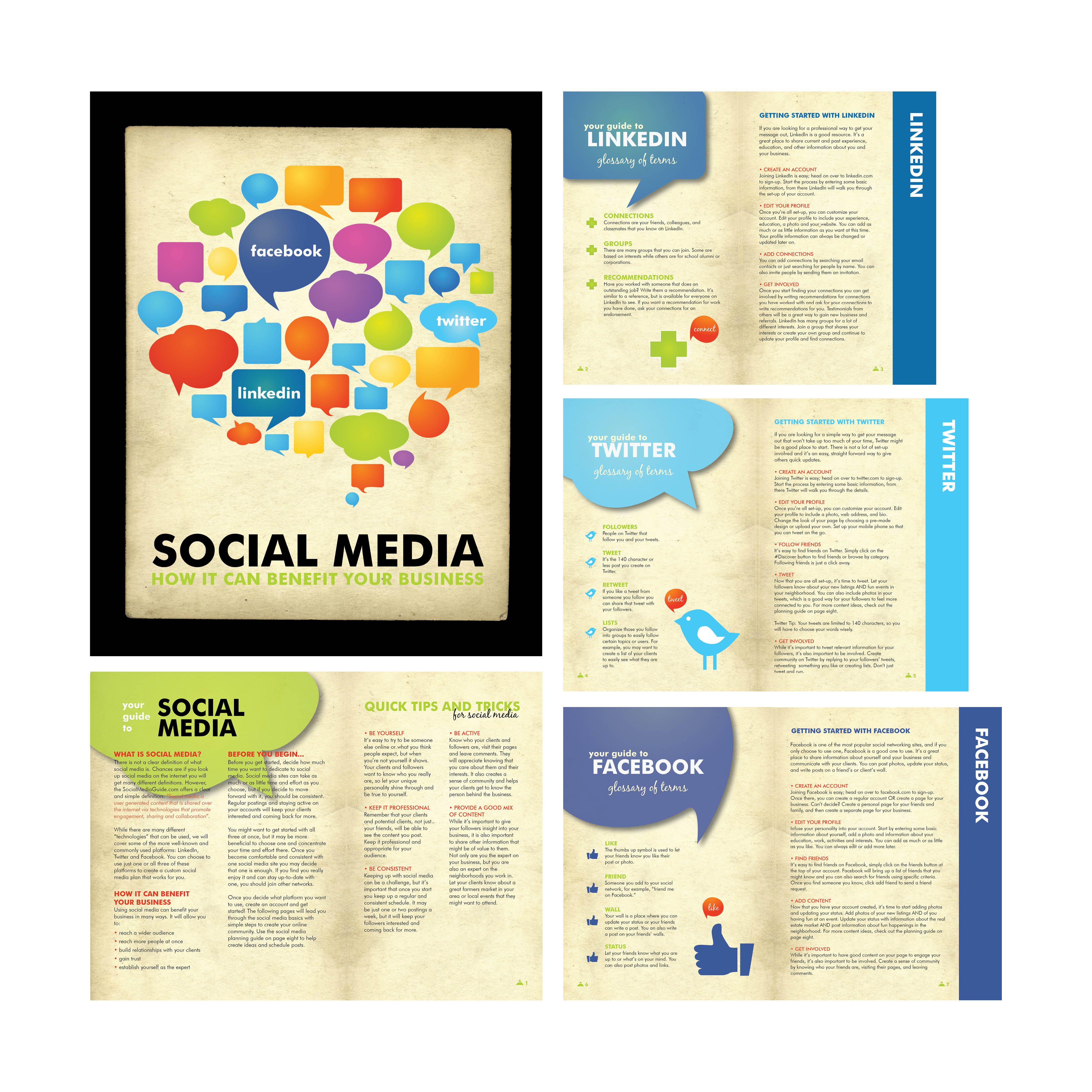 SOCIAL MEDIA BOOKLET