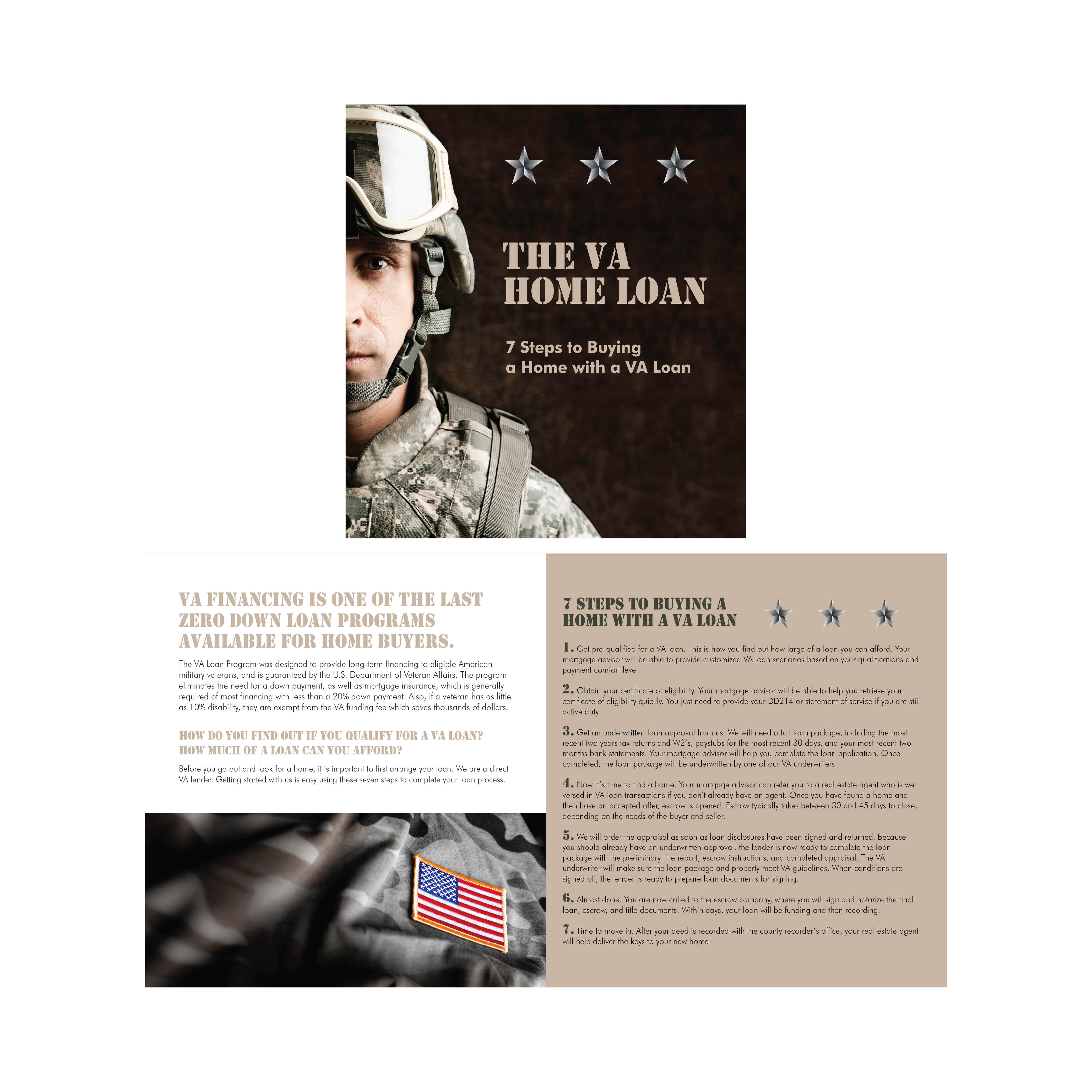 VA LOAN PROGRAM FOLD