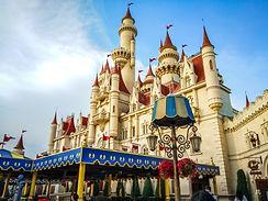 The-Beutiful-castle-at-Universal-studio-