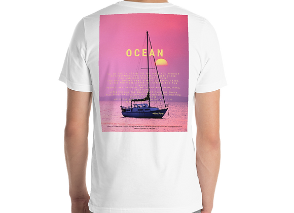 """Ocean"" Short Sleeve Unisex T-Shirt"