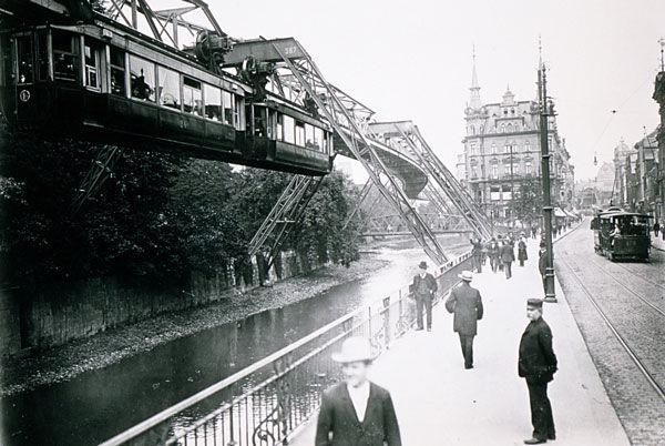 Wuppertal um 1905