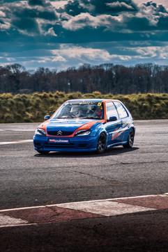 Citroen Saxo Westbourne Motorsport blue