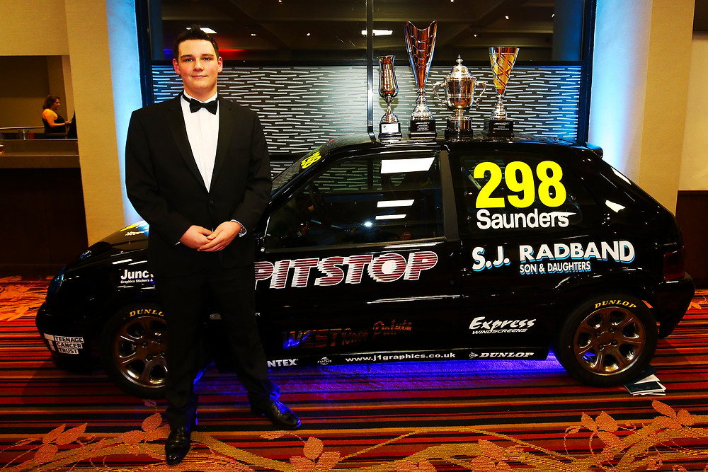 Lewis Saunders at BARC 2019 championship awards