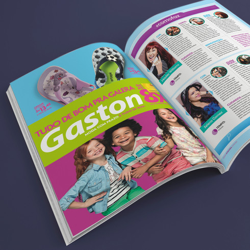 GASTON SHOES (Brazil)  I  Magazine AD -