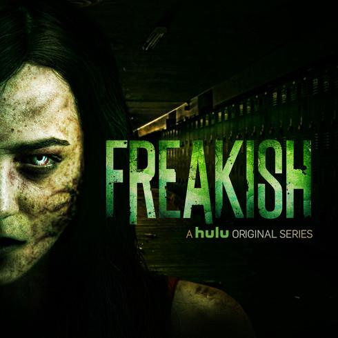 FREAKISH Hulu Original Series   I   Logo Design