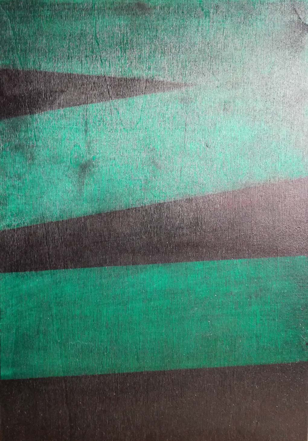 Erik Haemers Wood encre green
