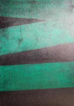 Erik Haemers Wood encre green