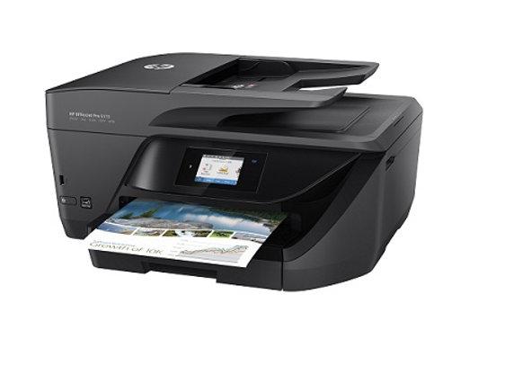 מדפסת ה.דיו אלחוטית HP OfficeJet Pro 6970