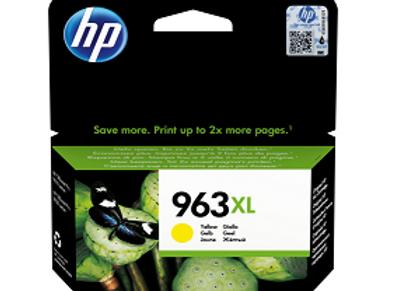 דיו מקורי HP 963XL צהוב